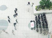 Grupa pracowników firmy