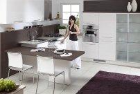 kuchnia, stół, krzesła